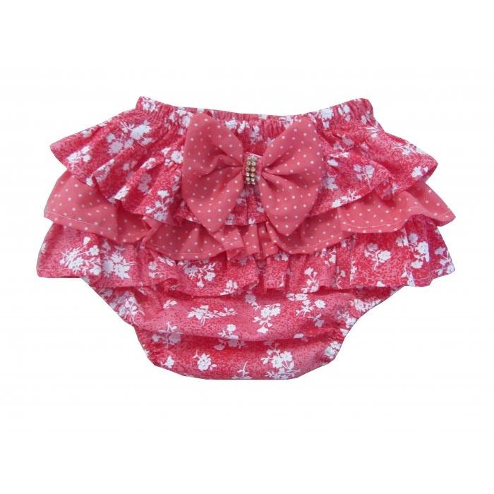 25460e2c6 Calcinha Bunda Rica - Floral No Fundo Rosa Chiclete